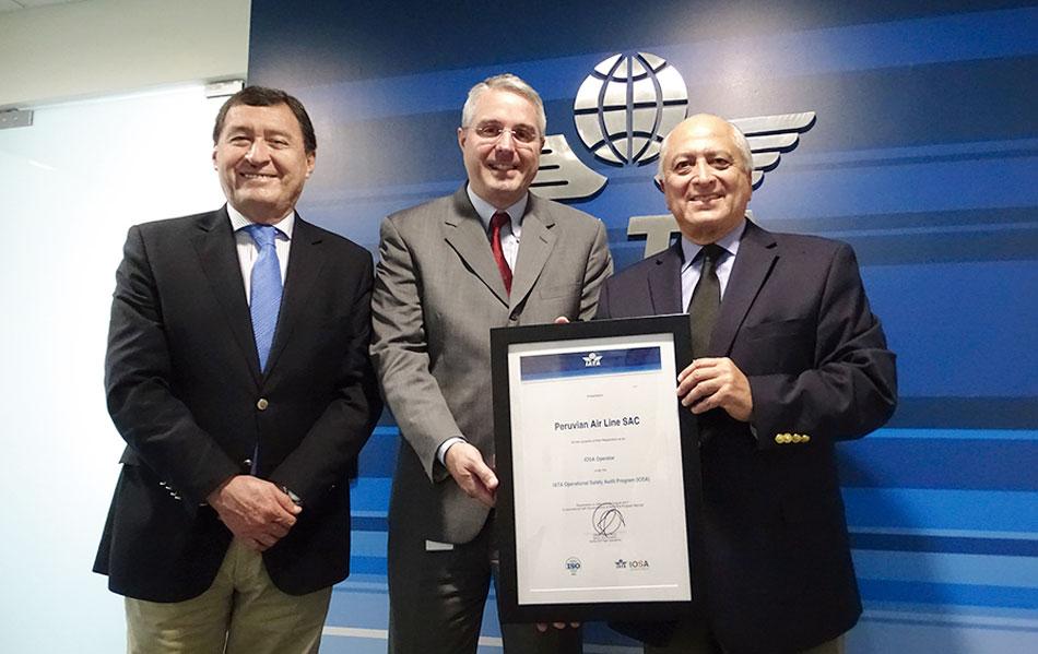 AEROLÍNEA PERUVIAN CUENTA CON CERTIFICACIÓN IOSA DE IATA | T News