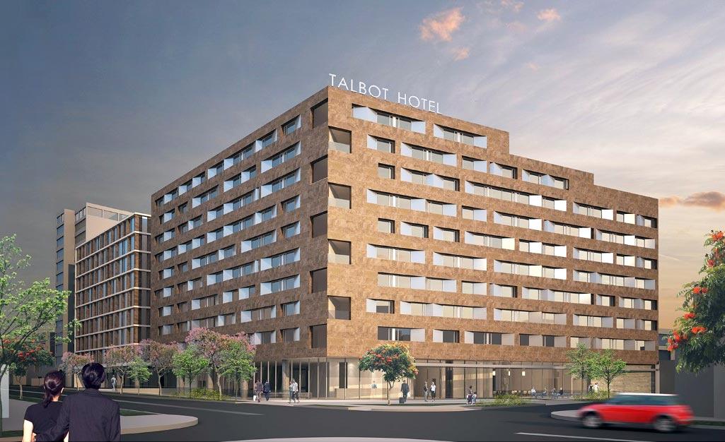Hotel talbot en san isidro empezar a operar a finales de for Decameron bogota oficinas