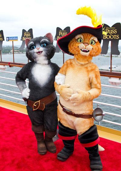 Royal Caribbean es también el encuentro con los queridos personajes de Dreamworks.