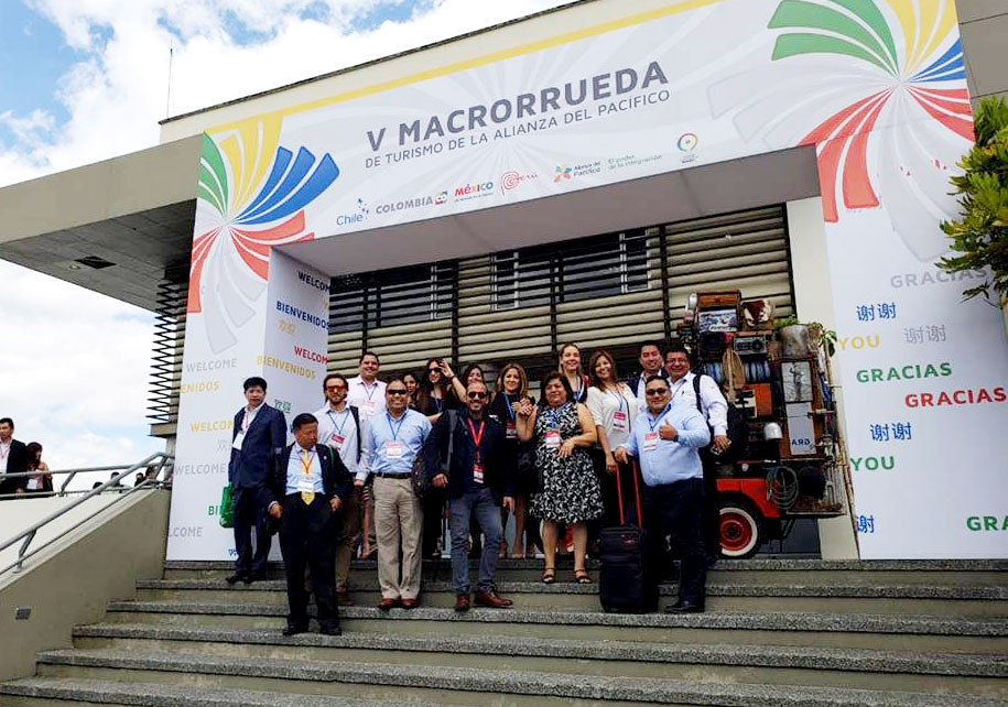 49132a5d1 Empresarios peruanos presentes en la Macro Rueda de Turismo en Colombia.